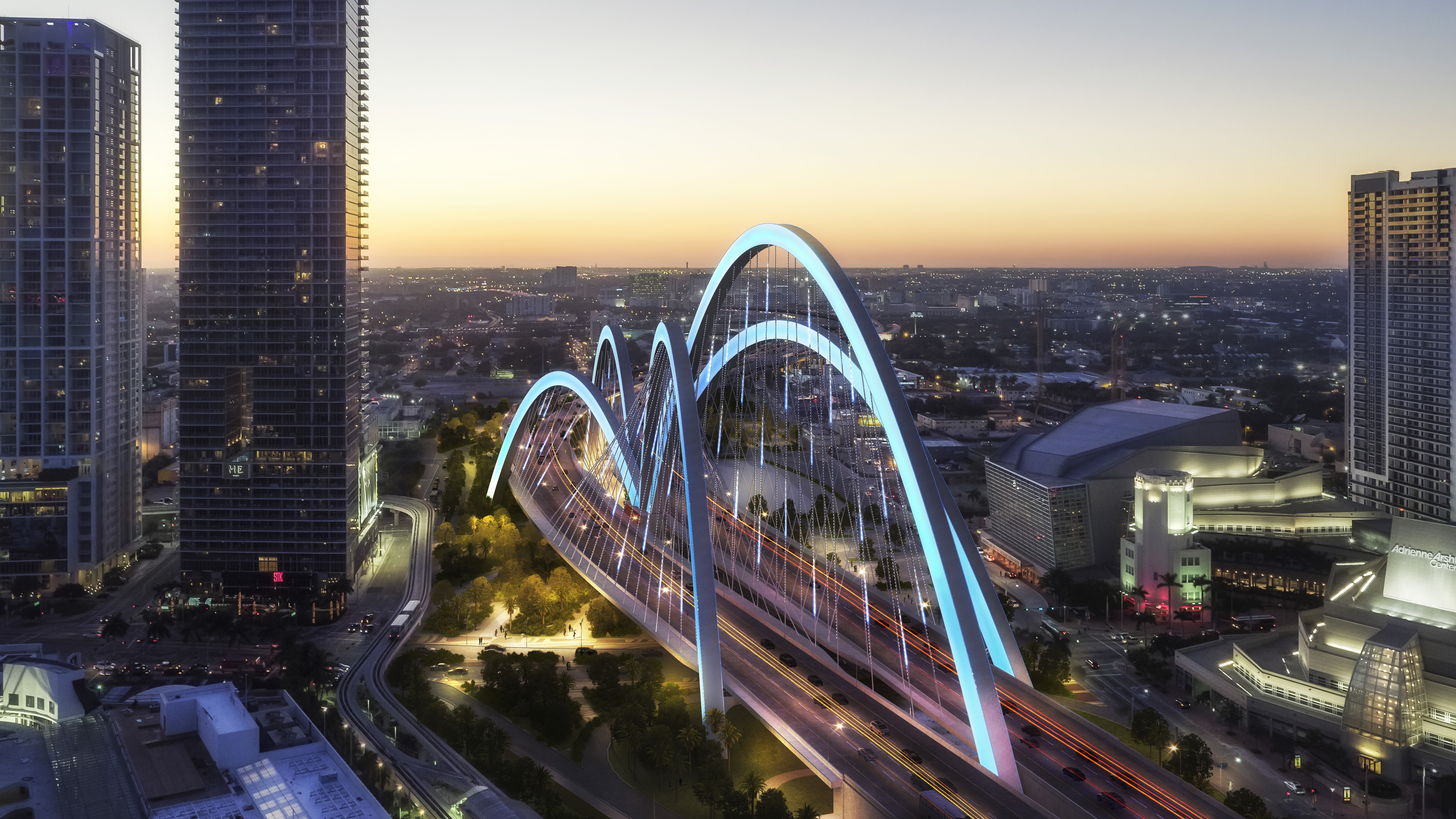 Miami's $800M 'signature bridge' project chosen