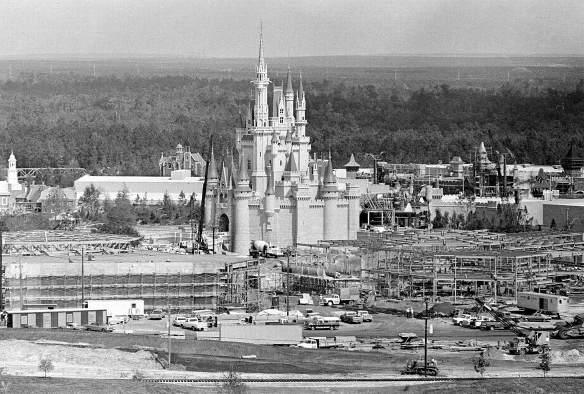 In November, 1965 announced plans for the theme park. Six years later, the Magic Kingdom opened. From archives, here is a look back at the milestones of Walt Disney World
